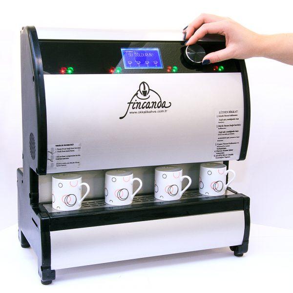 Fincanda Türk Kahvesi Makinesi (4'lü)